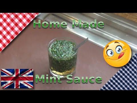 How to Make Fresh Mint Sauce