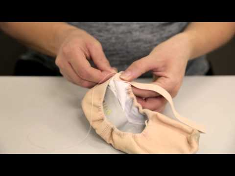Premier School of Dance: How to sew elastics on flat ballet shoes