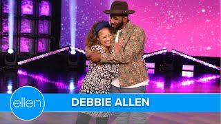 Debbie Allen Does 'Da Butt,' tWitch Twerks in Dance Game!