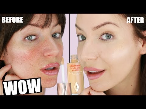Charlotte Tilbury Hollywood Flawless Filter REVIEW & 12 HOUR WEAR TEST