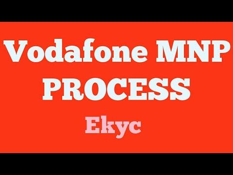 New Vodafone MNP ekyc Process