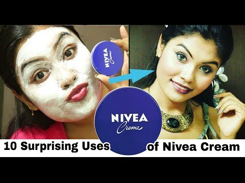 10 Surprising Uses of Nivea Cream | The Results are Shocking | Repair Your Skin With Nivea creme