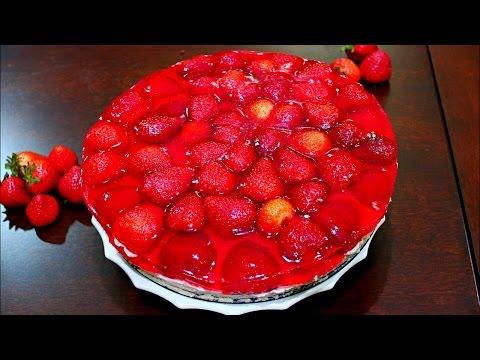 INCREDIBLE Strawberry Jello Cake Recipe
