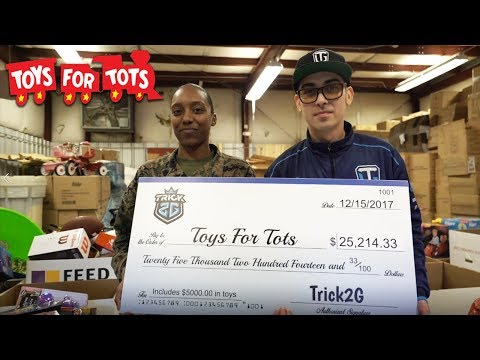 TOYS 4 TOTS 5K SHOPPING SPREE! | WE RAISED 30K! - Trick2G