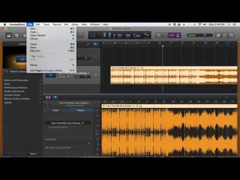 How to Make a Cheer Mix on GarageBand