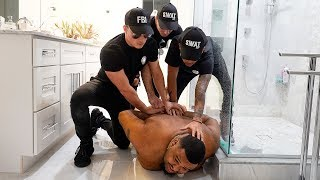 FBI Arrest Prank On OMI IN A HELLCAT