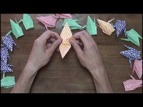 How To: Origami Crane 折紙 鶴