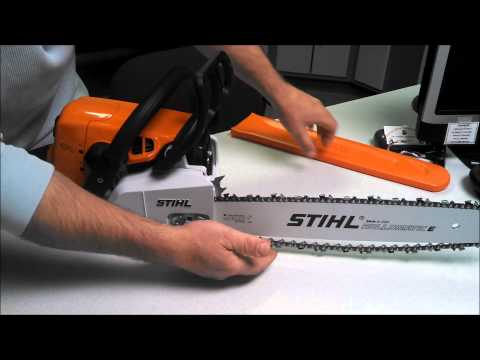 How to Properly Adjust a Chain on a MS250 Stihl Chainsaw