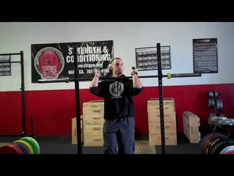 Improving Mobility For Front Squats and Cleans (Rack Position)