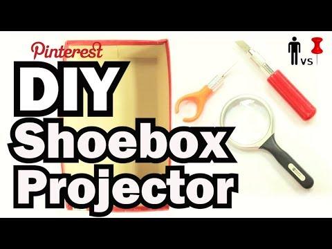 DIY ShoeBox Projector - Man Vs. Pin #22