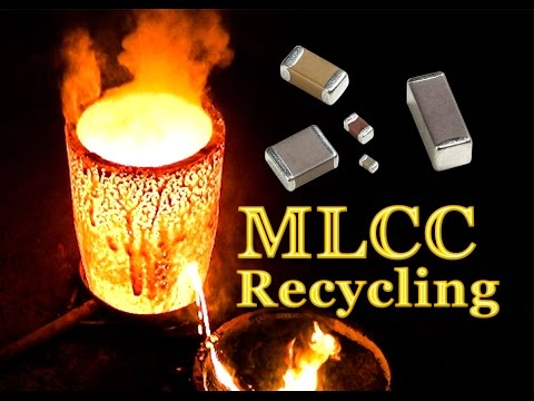 💠Palladium, Silver and Gold recovery from MLCC (Monolithic Ceramic Capacitors)💠PART-2