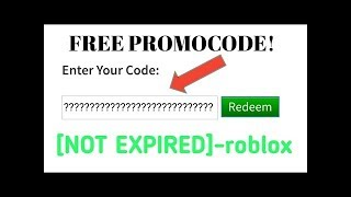 BRAND NEW ROBLOX PROMOCODE ACTUALLY WORKS 2018 MARCH *PROOF*