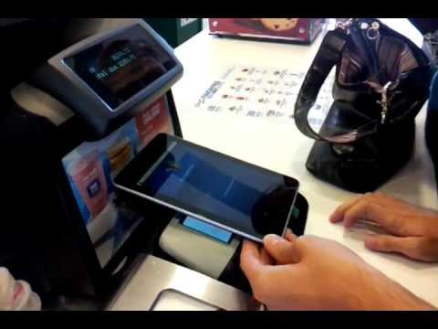 Paying McDonalds with Nexus 7
