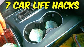 7 Easy Car Life Hacks