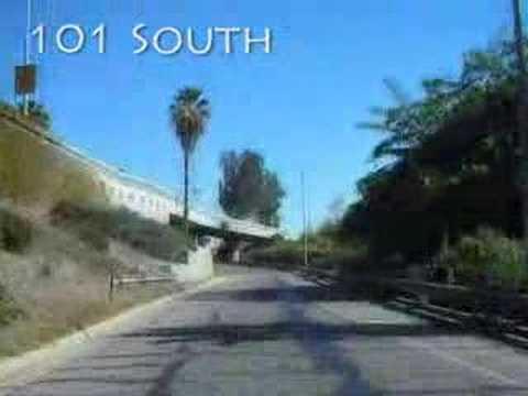 Hollywood 101 Freeway Video
