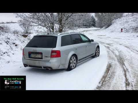 Audi Quattro Schnee - Test - Audi S6 4B C5 - 4.2 Audi