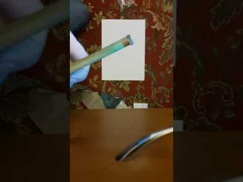 How to re tip a snooker / pool cue with a pencil sharpener