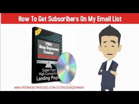 How To Get Subscribers On My Email List