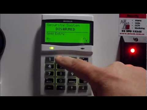 How to change your Bosch alarm code. Alarms Sydney