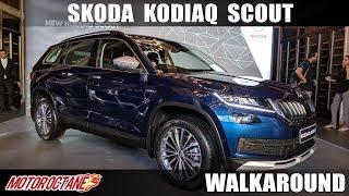 Skoda Kodiaq Scout | Hindi Walkaround | MotorOctane