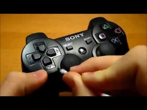 How To Clean A PS3 Controller
