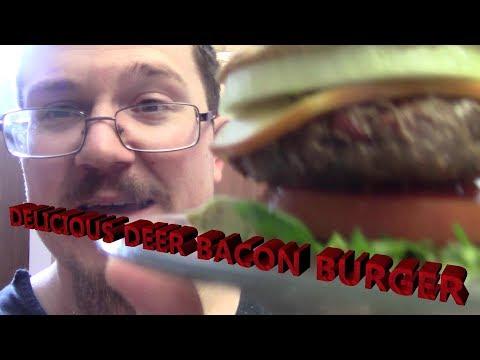 Deer Bacon Burger Recipe   Dpg Cooking Corner   S2•E2