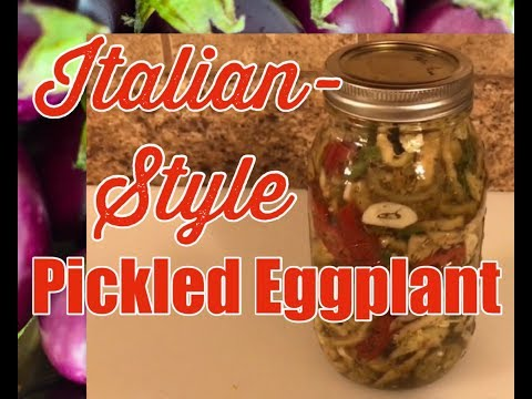 Italian-Style Pickled Eggplant | The Cutting Board