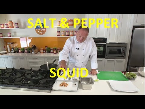 Salt and Pepper Squid made easy | The Hook and The Cook