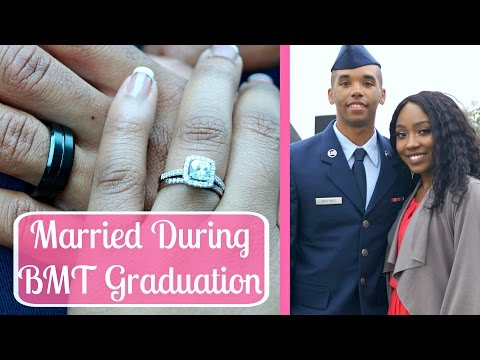 All About Getting Married During BMT Graduation Weekend