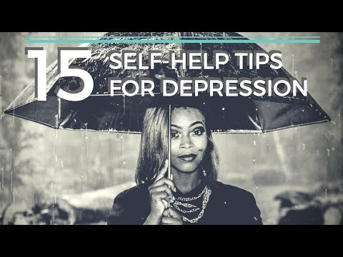 Self Help Tips For Depression