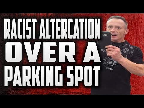 Angry Person Being Racist Over a Parking Spot in Abbotsford