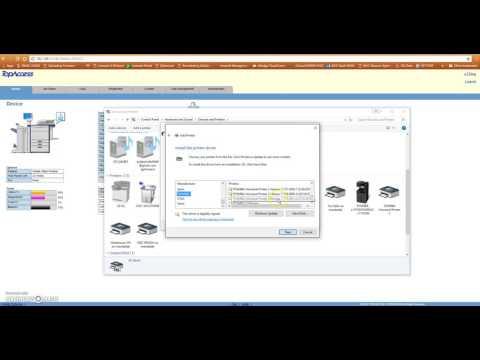 Printer port setup Video 3