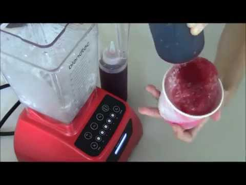 How To Make Homemade Snow Cones!