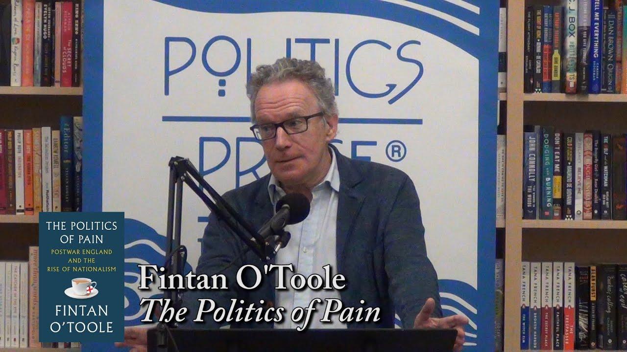 """Fintan O'Toole, """"The Politics of Pain"""""""