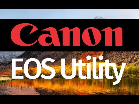 How to make Canon EOS Utility work on macOS High Sierra