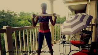 Shape Tone Your Arms With No Weights No Pushups How To Lose Arm Fat