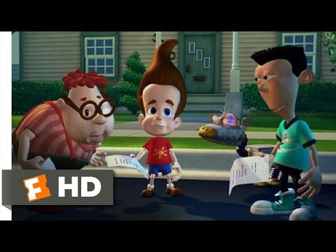 Jimmy Neutron: Boy Genius (4/10) Movie CLIP - No Parents (2001) HD