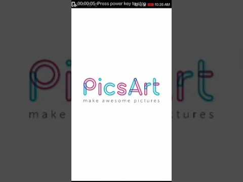 How to increase image quality and edit using picsart !!