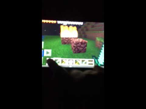 Minecraft pe:how to set things on fire