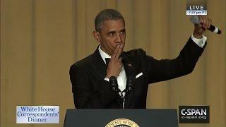 President Obama COMPLETE REMARKS at 2016 White House Correspondents