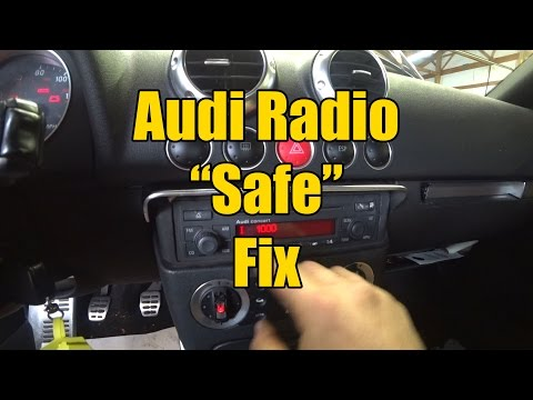 Audi Radio Safe Fix