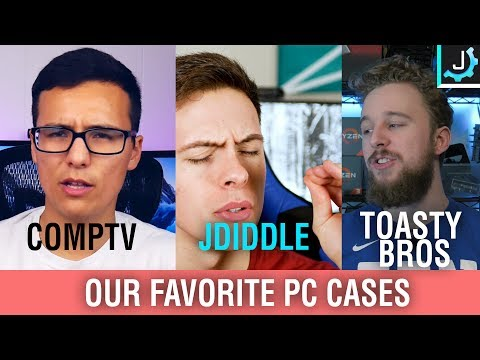 What's Our Favorite PC Cases of All Time? Feat. Toasty Matt and comptv Lee