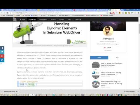 Selenium: How to handle dynamically changing objects or locators with Selenium?