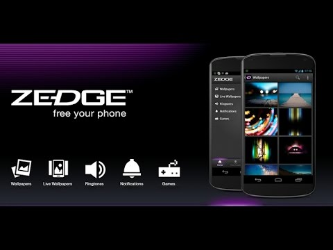 Best android app to Download Wallpapers & Ringtone || Zedge || app review ||