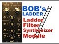 BOB's LADDER based on moogs ladder filter built on simple perf board