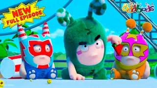 BEST ACTION EPISODE EVER! | Oddbods | Full EPISODE COMPILATION | Cartoons For Kids