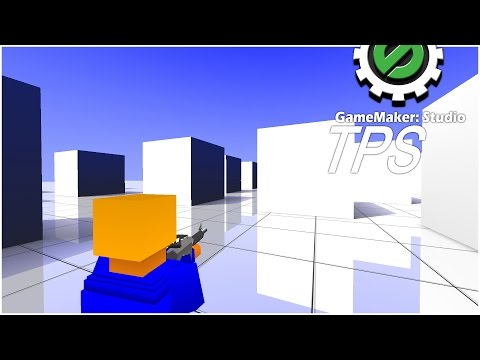 GM:S Tutorial - 3D Third Person Shooter #1