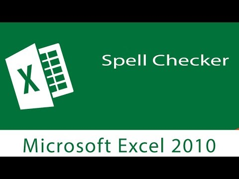 Excel: Spell Checker | Correcting Misspelled Words