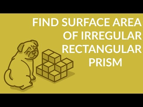 ʕ•ᴥ•ʔ How to find Dimensions and Surface Area of irregular Rectangular Prism