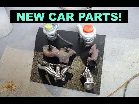 NEW CAR PARTS! + DIY Hood Vent